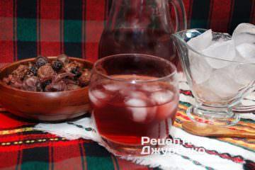 Фото рецепта компот из чернослива