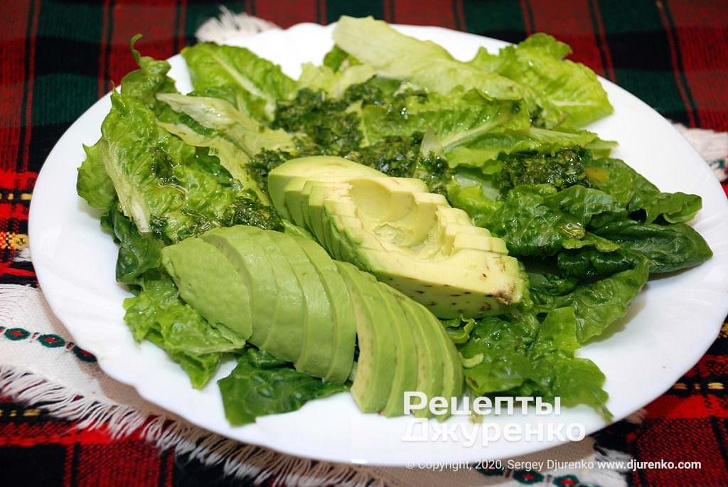 Зелень для салату.