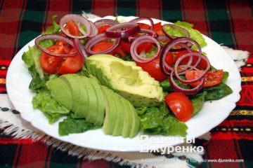 закуска с авокадо фото рецепта