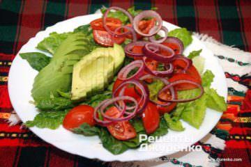Фото рецепта закуска с авокадо