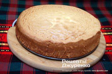 Фото рецепта бисквитное тесто