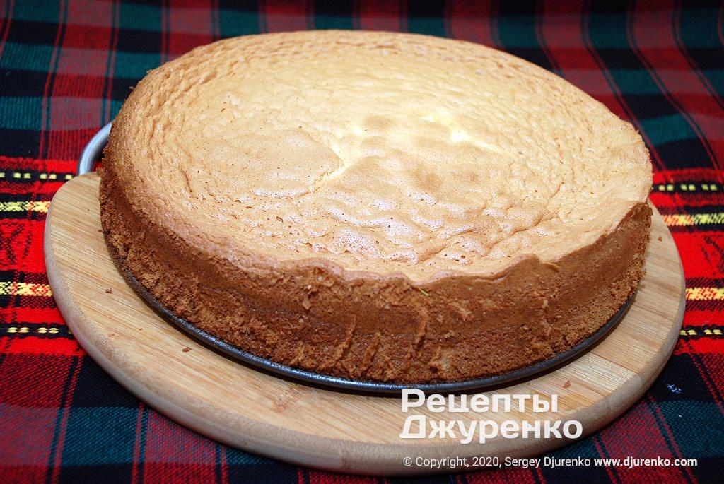 Готова страва Бісквітне тісто - основа для тортів.
