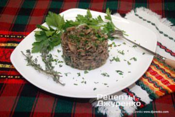 Фото рецепта жареные шампиньоны с луком