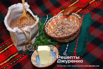 Фото рецепта як варити гречку