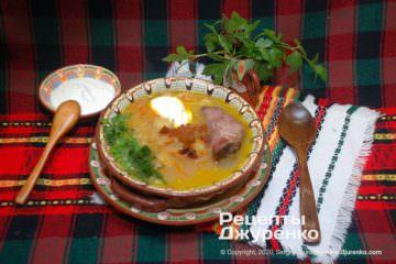 Готовое блюдо капустняк