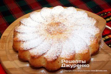 Фото рецепта манник на кефірі
