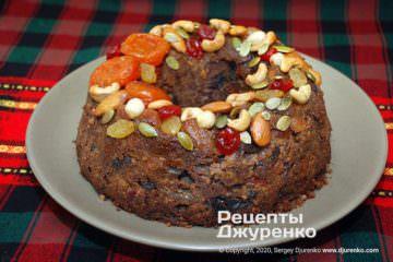 Фото рецепта пудинг до святкового столу