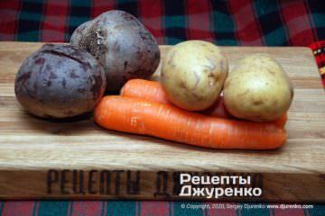 Крок 1: овочі для салату