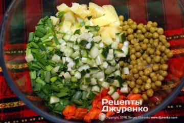 Крок 3: подрібнення овочів