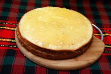 Готовое блюдо бисквитный торт