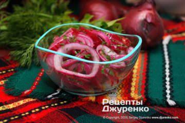 Фото рецепта як маринувати цибулю