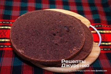 Крок 4: коржі для торта