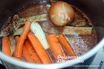 Шаг 2: бульон для мяса