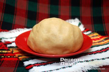 Шаг 2: тесто для медового печенья