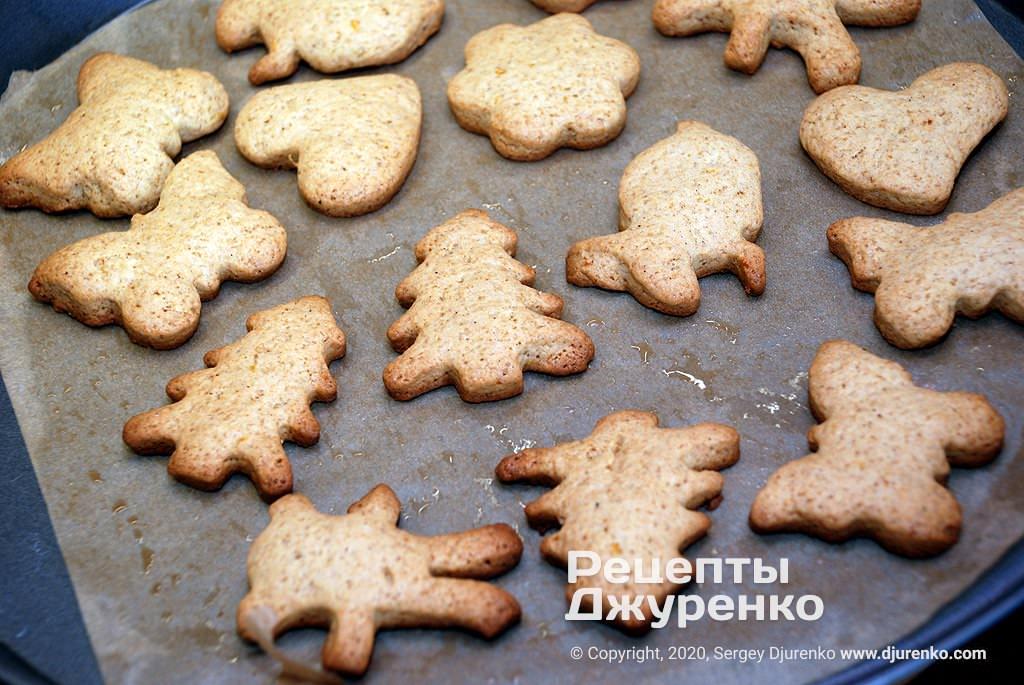 Выпеченное печенье.