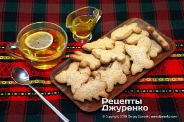 Фото рецепта медовое печенье
