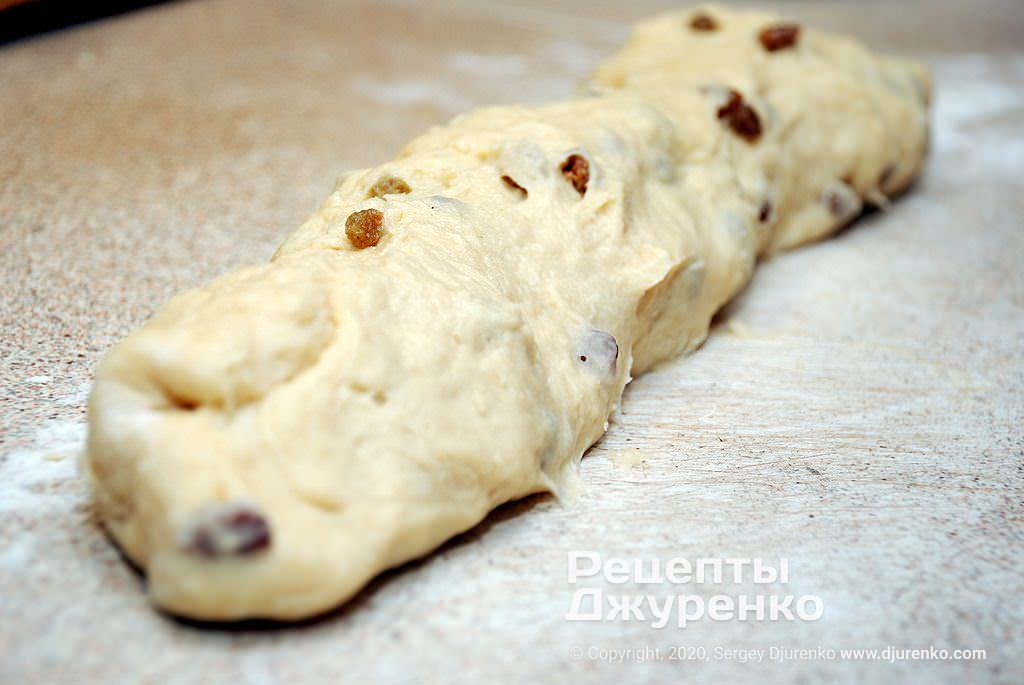 Готове тісто для ромових баб.