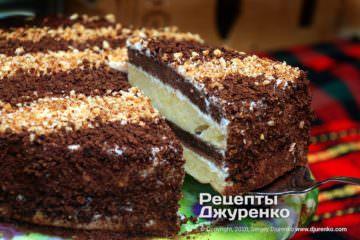 Фото рецепта торт сметанник