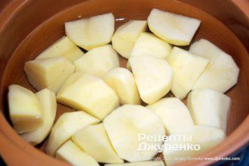 Шаг 1: отварной картофель