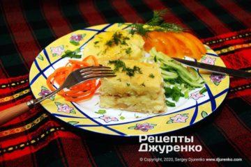 Фото рецепта картофельная запеканка в духовке