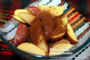 Шаг 2: специи для картошки