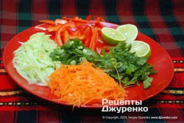 Крок 2: овочева нарізка