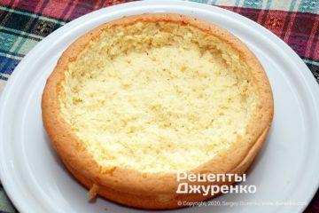 Крок 4: заготовка для торта