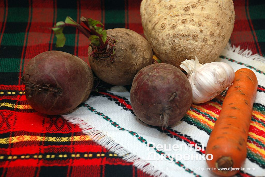 Овочі для тушкування.