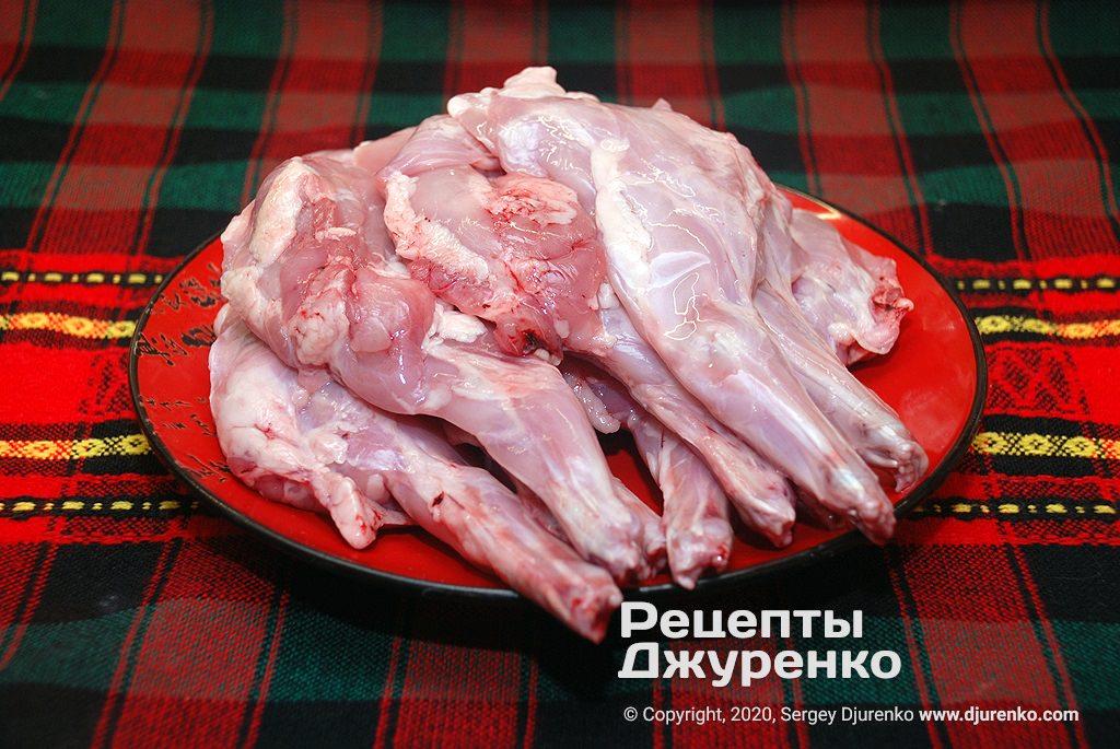 М'ясо кролика.