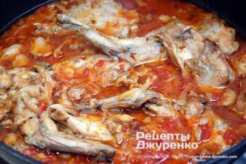 тушковане м'ясо з овочами