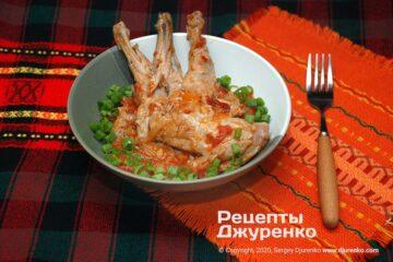 Фото рецепта рагу из кролика
