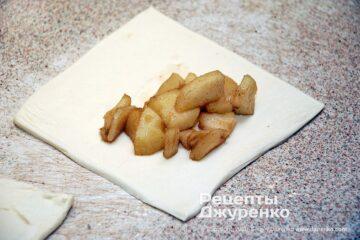 Шаг 3: тесто с начинкой