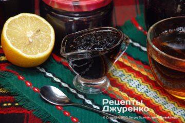 Фото рецепта варення з шовковиці