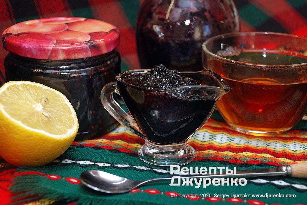 Варенье из шелковицы - десерт и сладкое лакомство.