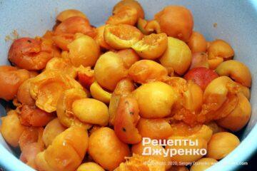 Крок 1: видалення кісточок в плодах