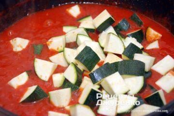 Крок 2: цукіні в томаті