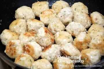 Шаг 5: жареные фрикадельки из рыбы
