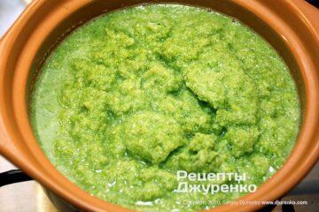 Шаг 2: пюре из капусты