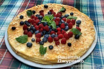 Фото рецепта торт наполеон