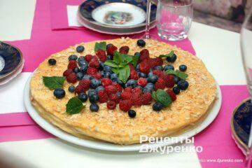 Шаг 1: праздничный десерт