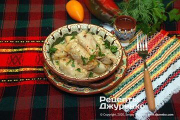 Фото рецепта сарма в капустных листьях