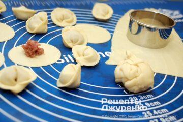 Фото рецепта тесто для пельменей
