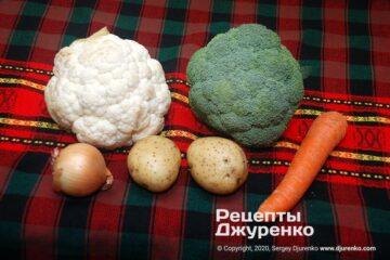 Крок 1: овочі для супу