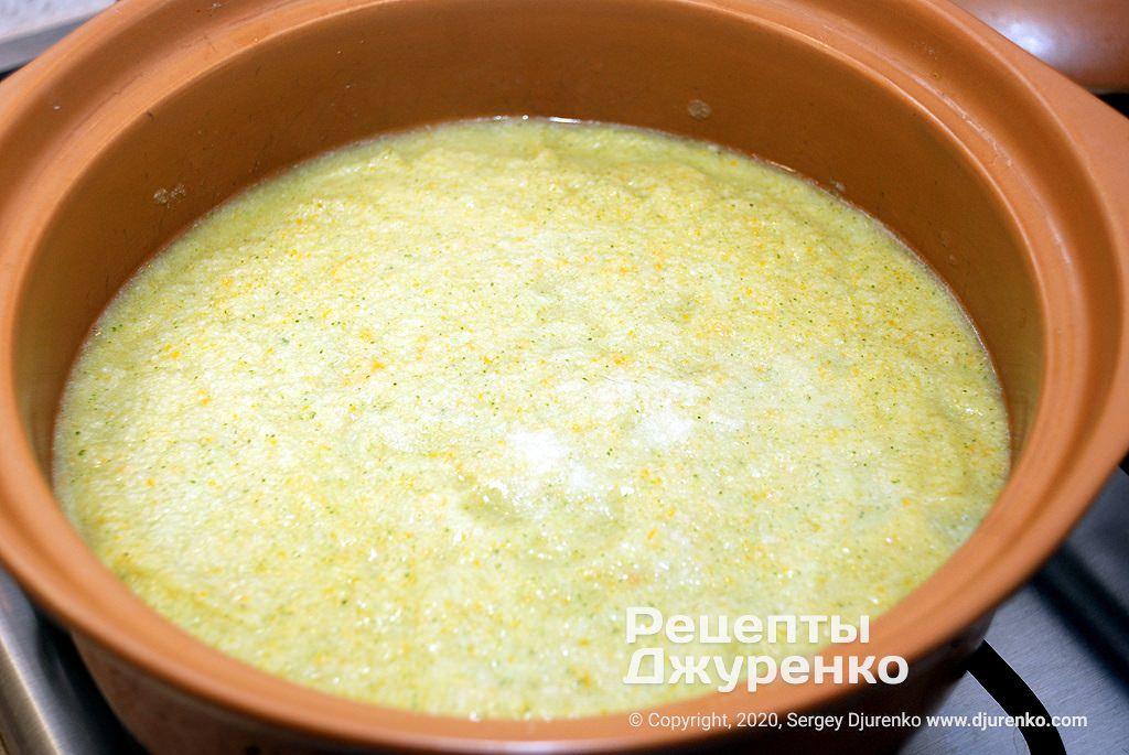 Густой суп из овощей.