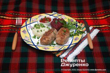 Фото рецепта котлеты из говядины
