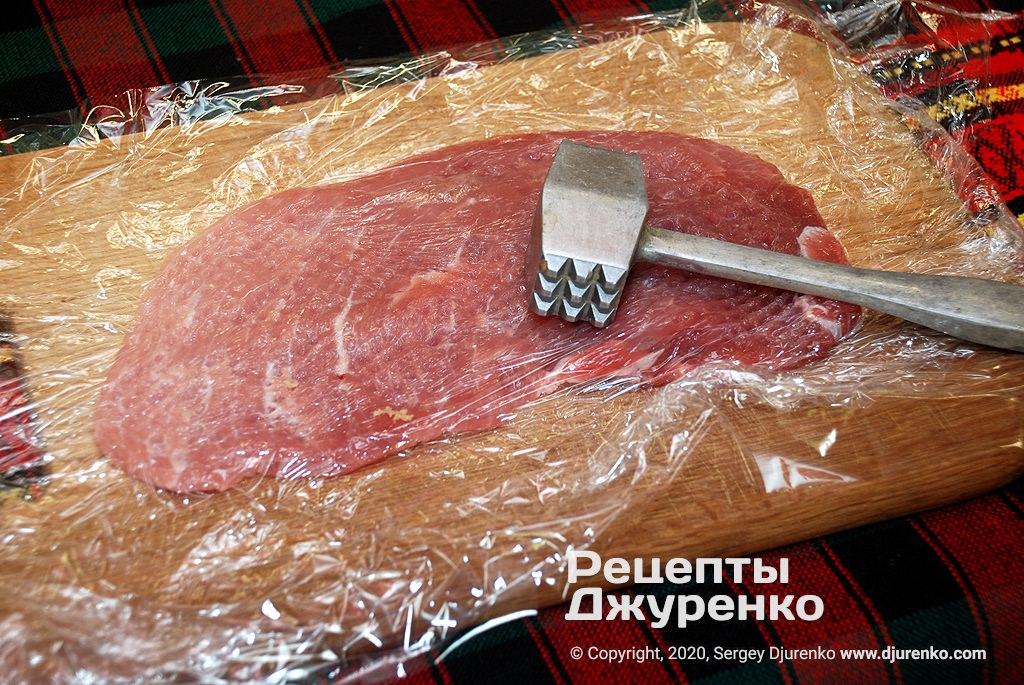Як відбивати м'ясо.