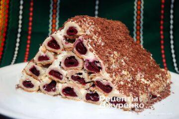 Готовое блюдо торт Монастырская изба