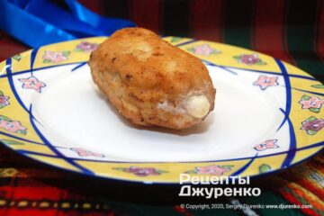 Фото рецепта кордон блю