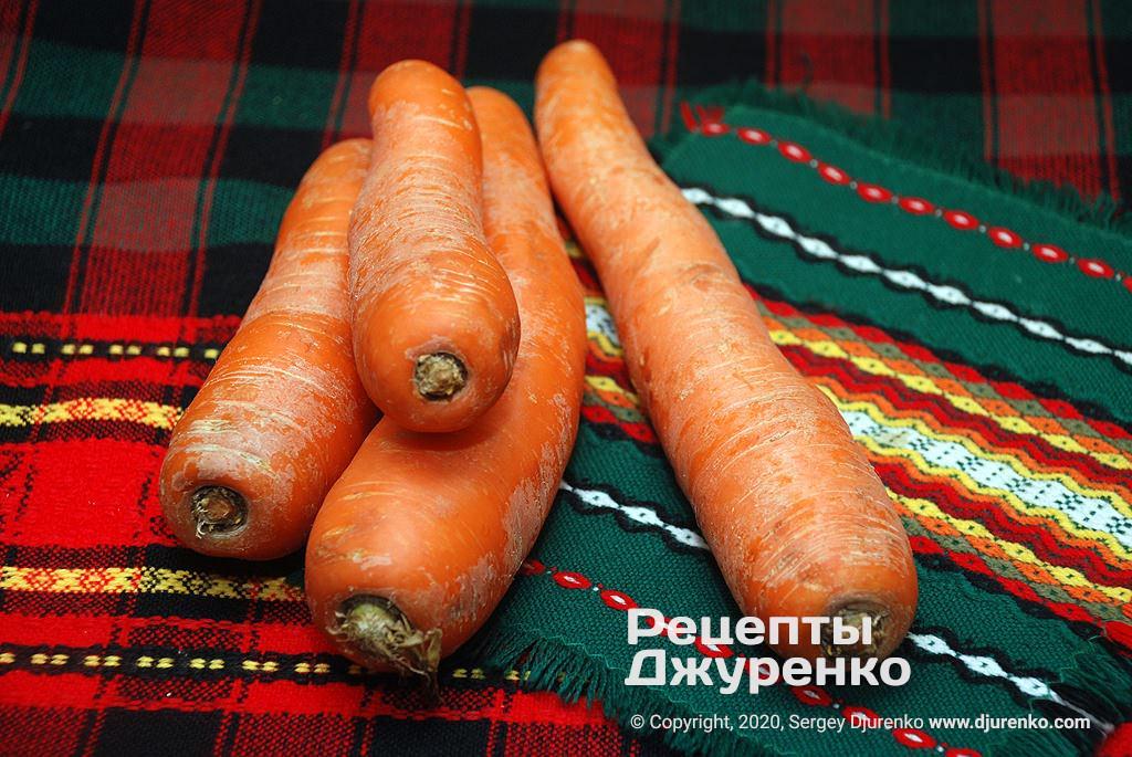 Морковка для бисквита.