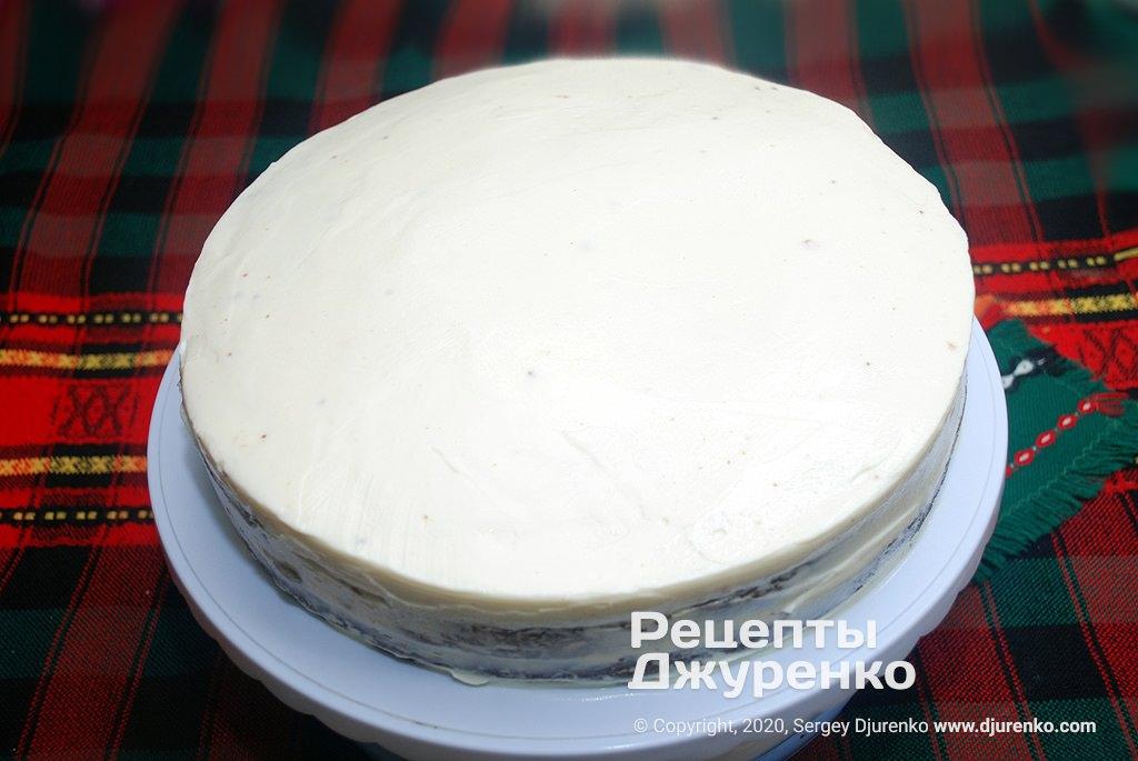Смаханный торт.